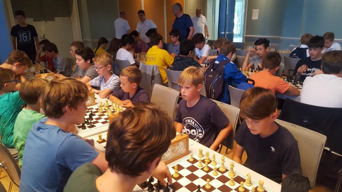 Baden-Württembergischer Schulschachpokal in Ettlingen