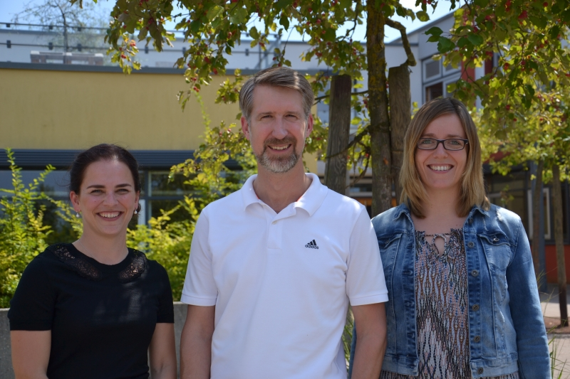 Die Schulleitung des Evangelischen Paul-Distelbarth-Gymnasiums
