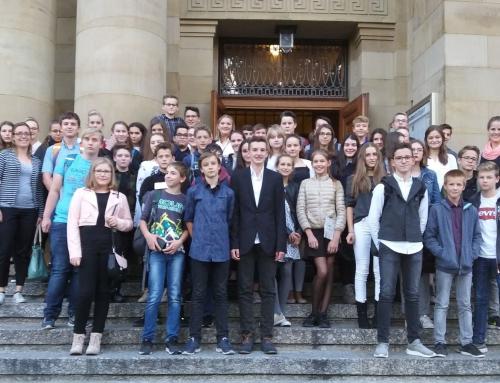 Klassen 8 besuchen die Stuttgarter Staatsoper