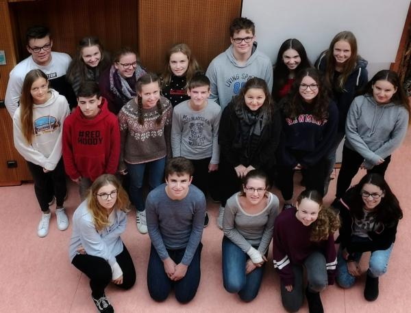 Schülermentoren am PDG 2018