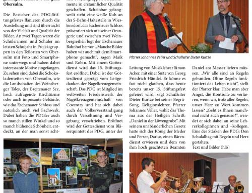 Rückblick Stiftungsfest inklusive Obersulm, gesehen mit dem fotografischen Auge der PDGler