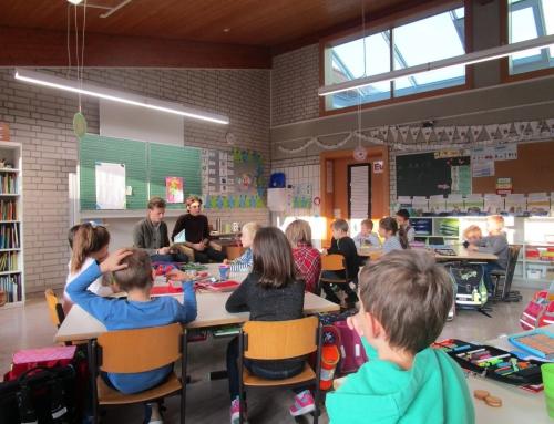 PDG Schüler lesen an der Grundschule Affaltrach