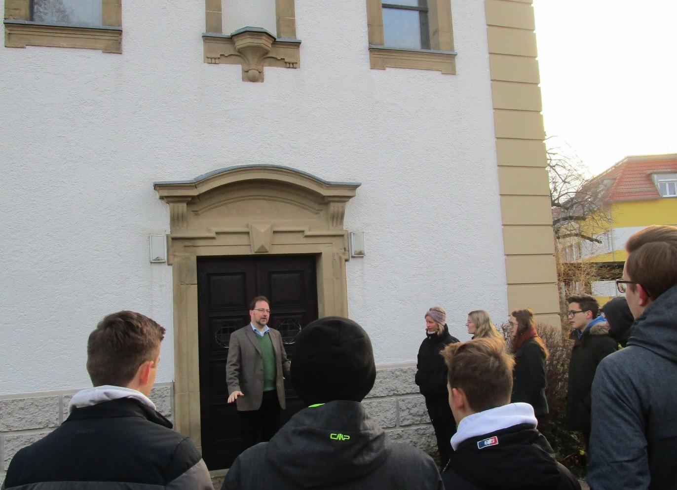 Kirche vor Ort - Besuch der Evangelischen Johanneskirche in Affaltrach