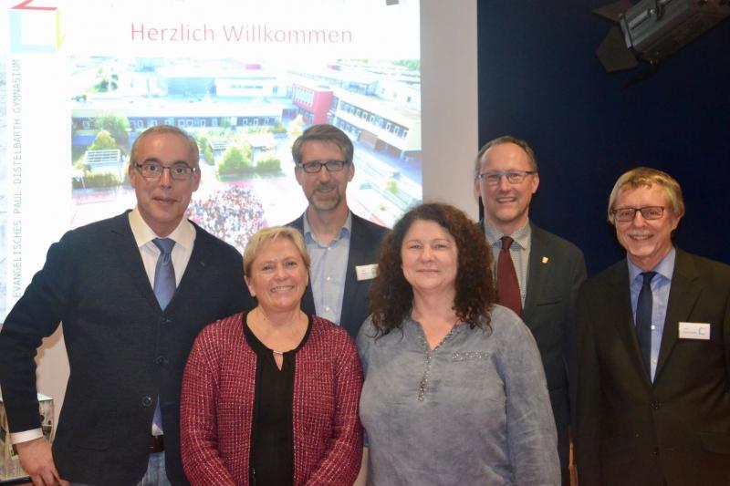 Kultusministerin Frau Dr. Susanne Eisenmann am PDG