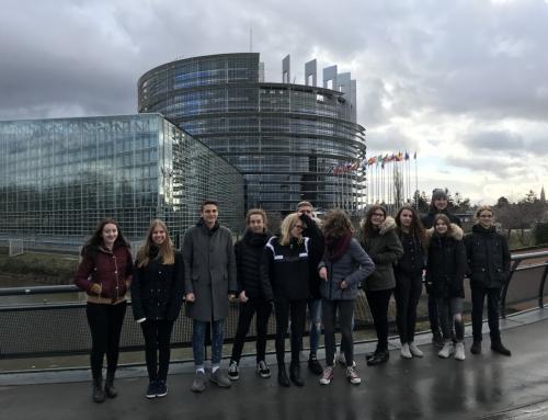 Besuch des Europäischen Parlaments in Strasbourg