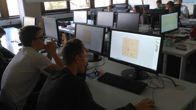 Informatikklasse an der Hochschule Heilbronn