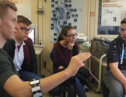 Informatikklasse des PDG besucht die Hochschule Heilbronn
