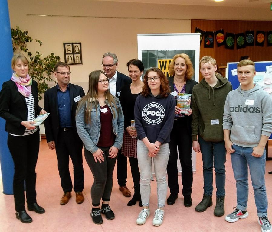 DIe gewählten Vertreter für den Jugendlandtag 2019 in Stuttgart