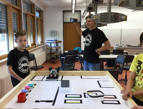Roboter Wettbewerb Virtual Gear am PDG