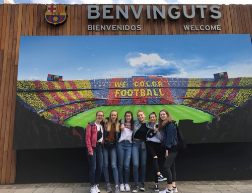 Spanischexkursion der 9er nach Barcelona