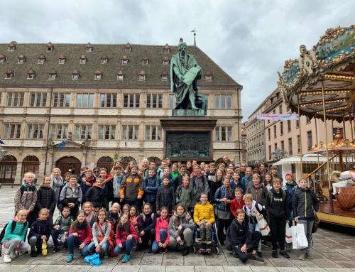 Une très belle journée – Klassen 7 fahren nach Straßburg
