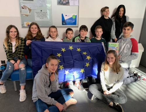 Ev. PDG ist ERASMUS + Schule