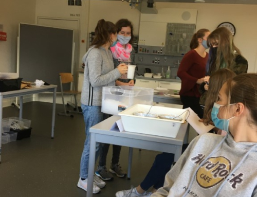 PDG bei Girls Day Akademie in der Experimenta