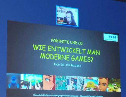 Fortnite und Co. – Wie entwickelt man moderne Games?