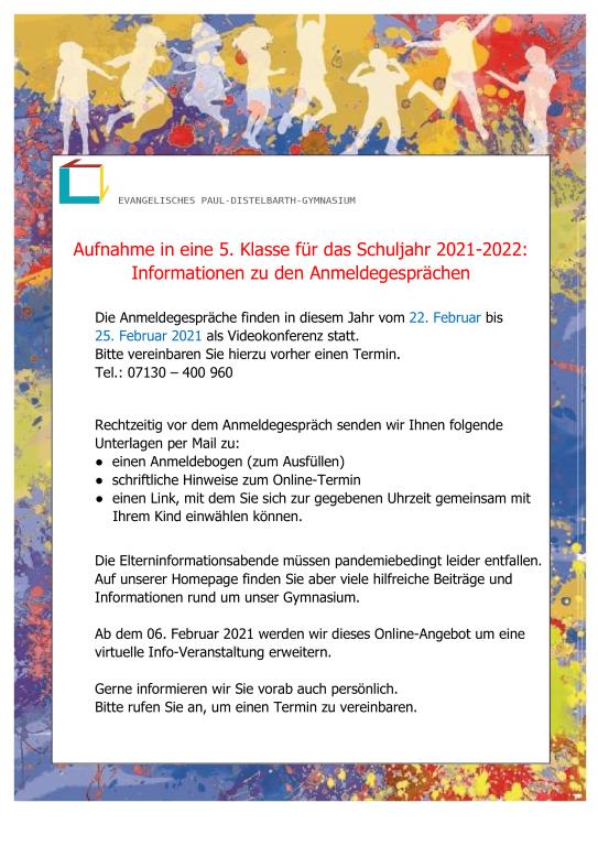 informationen-anmeldegespraeche 22.-25.02.2021