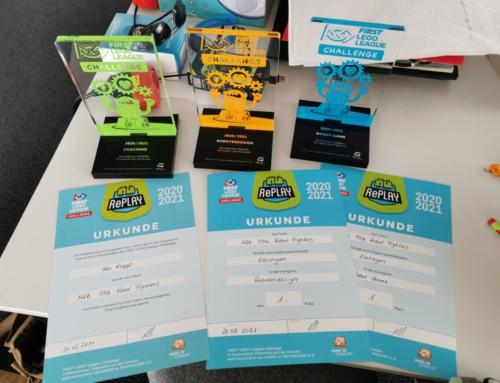 Technic AG siegt in der Kategorie Robot Design, Robot Game und Sonderpreis für Coaching