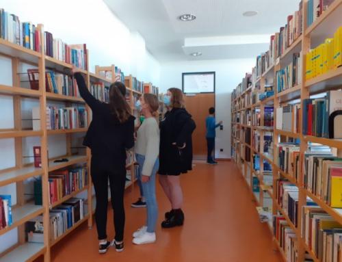 Wiedereröffnung der Schulbibliothek